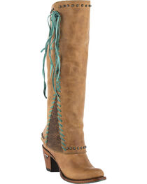 Lane Women's Hoodie Tall Western Boots - Round Toe , , hi-res