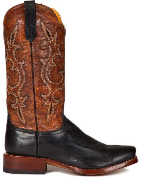 Cinch Men's Galaxias Gold Goat Western Boots - Square Toe, Black, hi-res