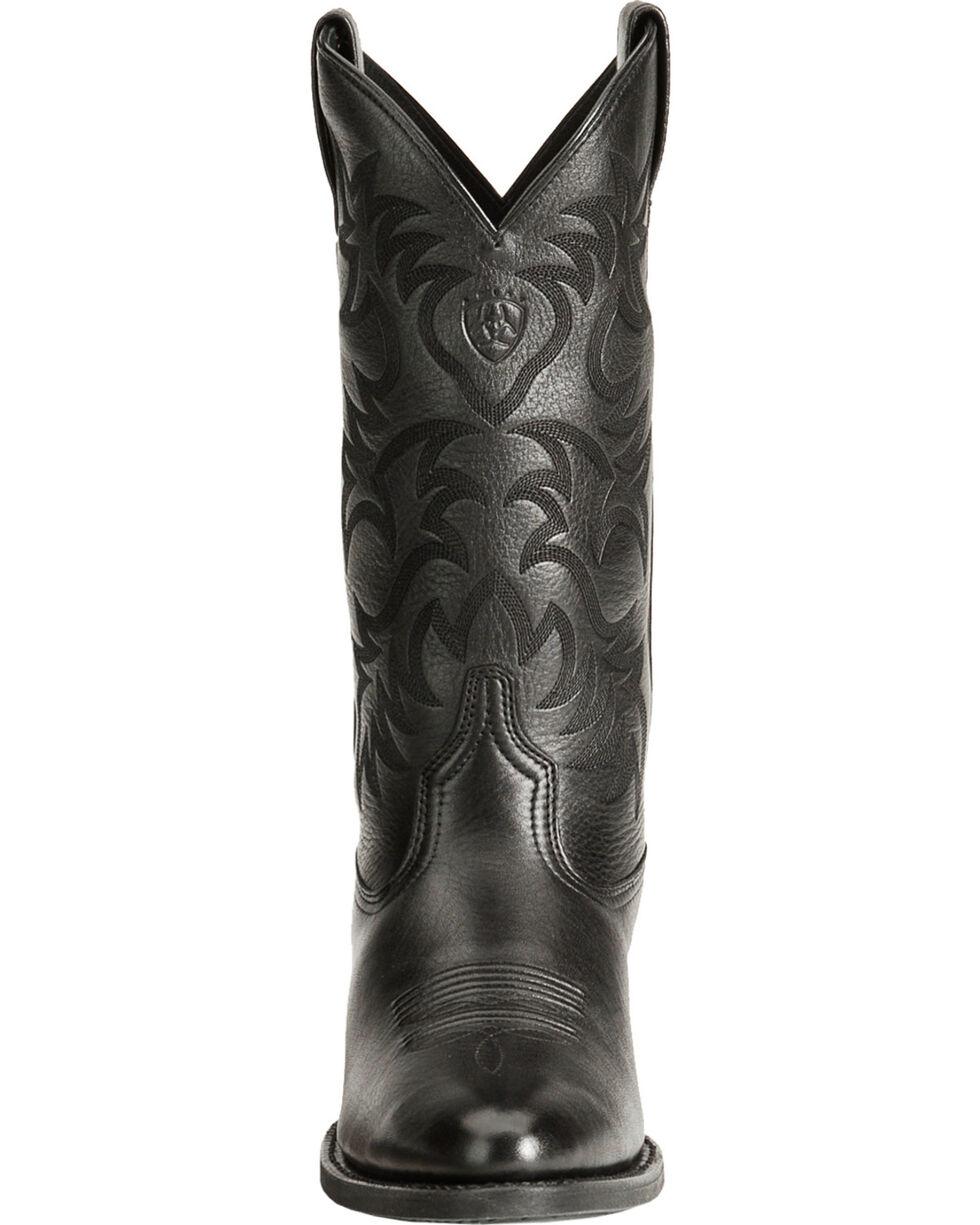 Ariat Men's Heritage Western Boots, Black, hi-res