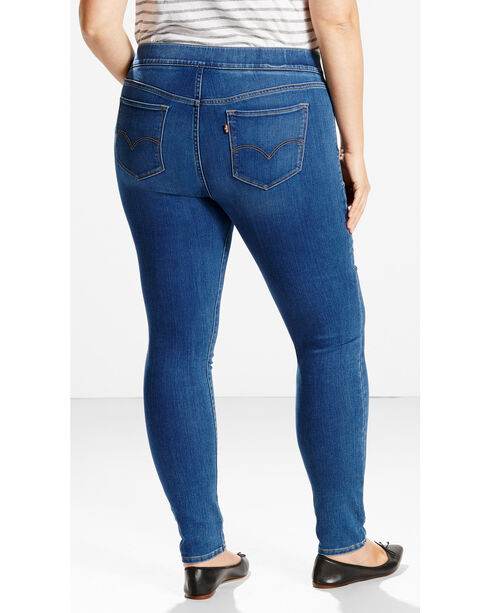 Levi's Women's Potrero Pull On jeggings - Plus Size, Indigo, hi-res
