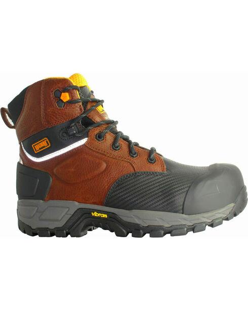 Magnum Halifax 6.0 Waterproof Work Boots - Composite Toe, Coffee, hi-res