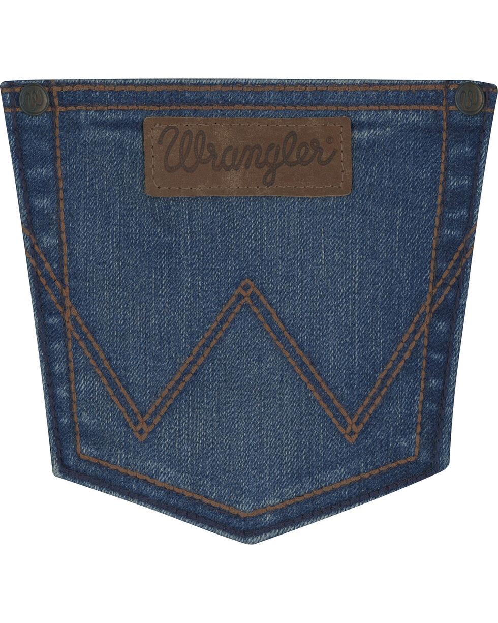 Wrangler Retro Women's Mae Mid-Rise Patch Jeans - Boot Cut, , hi-res