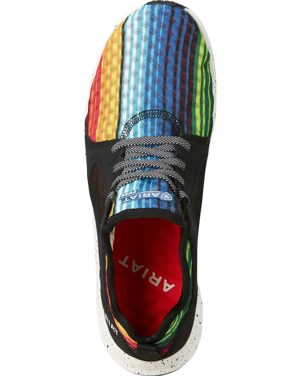 Ariat Women's Fuse Rainbow Mesh Sneakers, Multi, hi-res