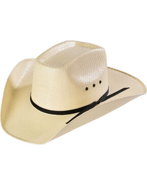 Kids Sancho Canvas Cowboy Hat, Cream, hi-res