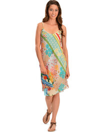 Johnny Was Floral Flair Print Dress, , hi-res