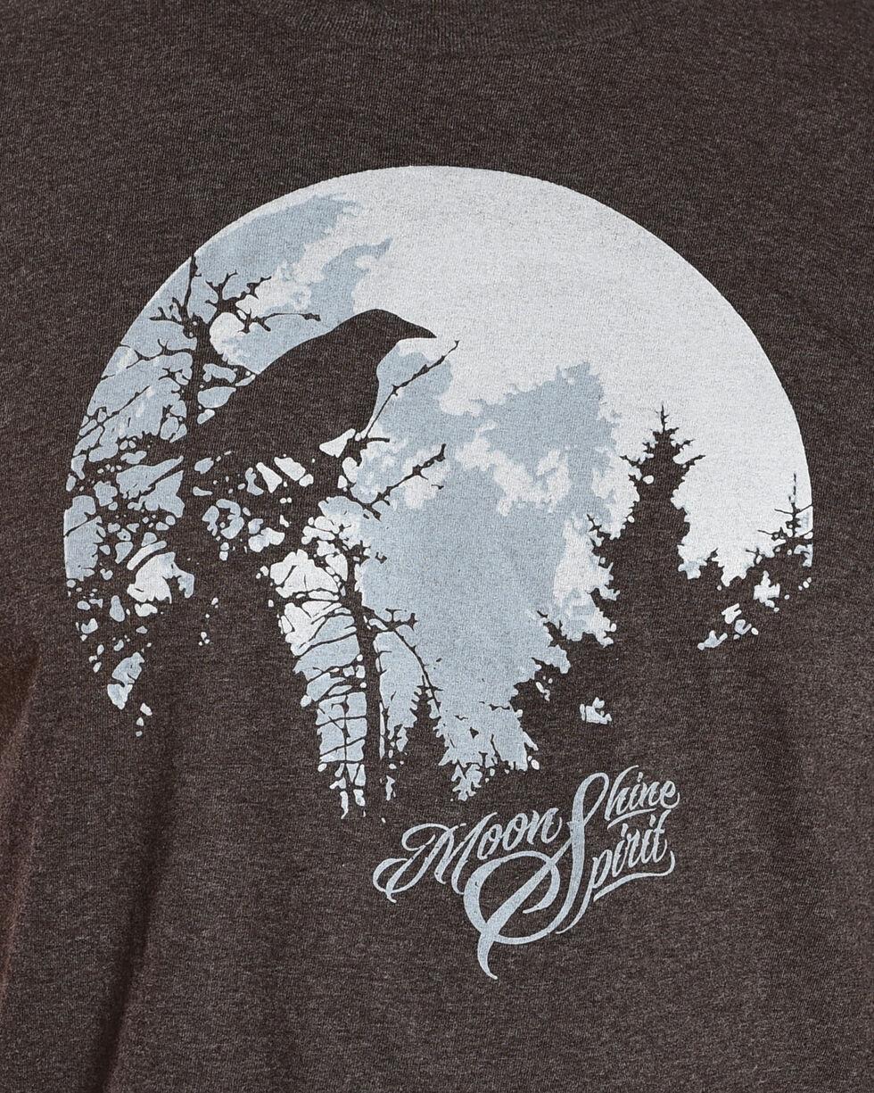 Moonshine Spirit Men's Moon Crow T-Shirt, Black, hi-res