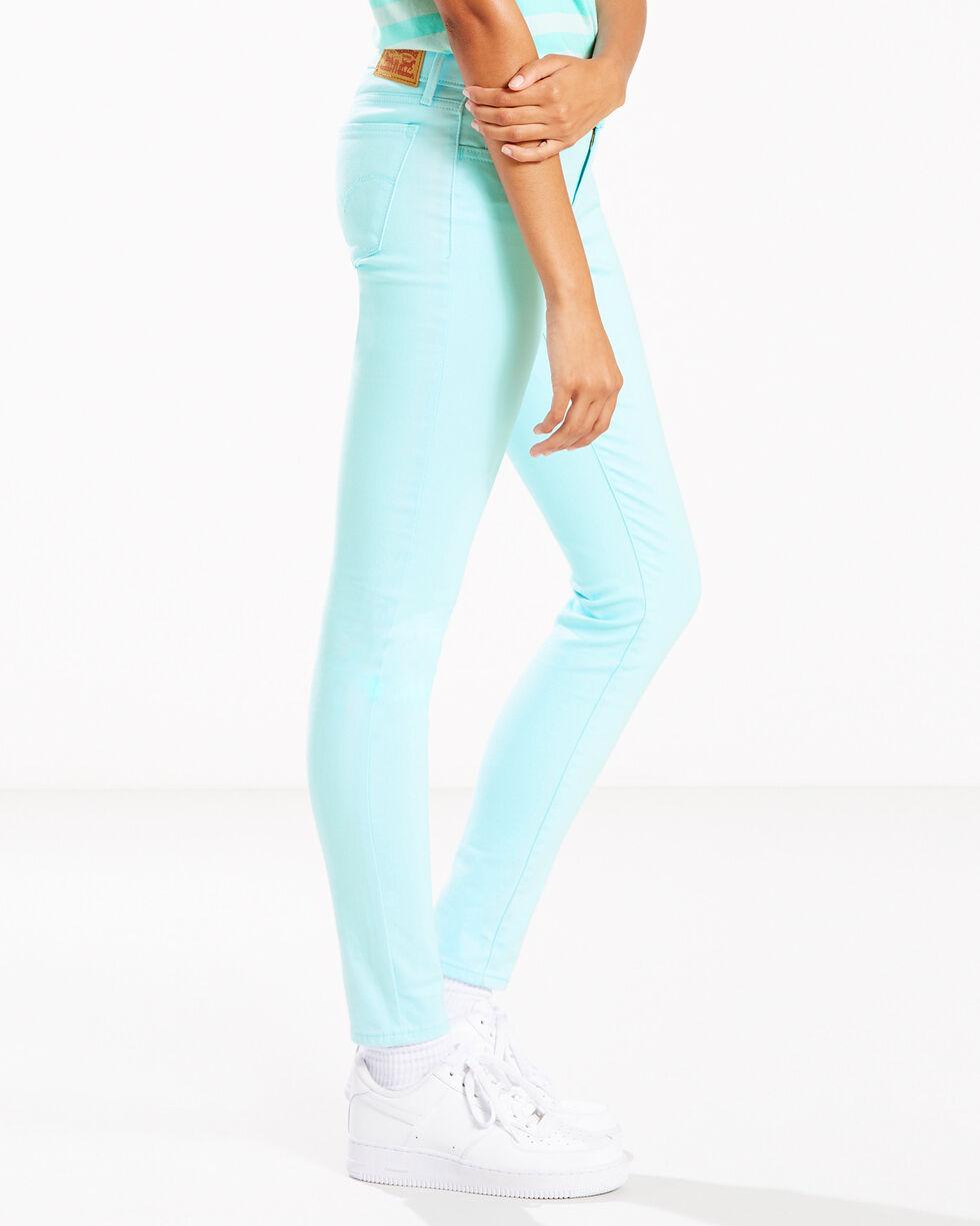 Levi's Women's Aqua 710 Skinny Jeans - 33 x 30, Indigo, hi-res