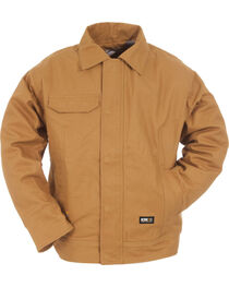 Berne Duck Flame Resistant Bomber Jacket - 3XL and 4XL, , hi-res