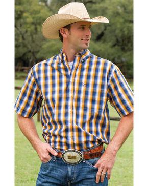 Cinch Men's Multi Tri-Blend One Pocket Short Sleeve Shirt, Multi, hi-res