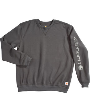Carhartt Men's Exclusive Graphic Sleeve Sweatshirt , Black, hi-res