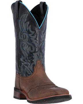 Laredo Men's Topeka Western Boots, Black, hi-res