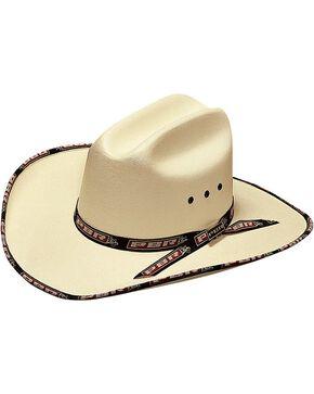 PBR Kids' Canvas Cowboy Hat, Natural, hi-res