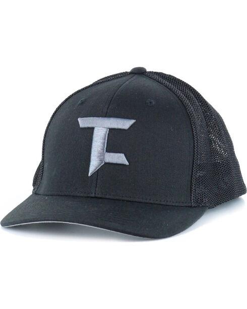 Tuf Cooper Performance Men's Black Trucker Cap , Black, hi-res