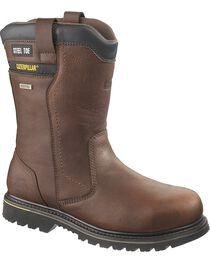 CAT Men's Waterproof Elkhart Work Boots, , hi-res