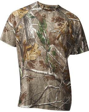 ROCKY® Men's Arid Light Short Sleeve T-Shirt, Camouflage, hi-res