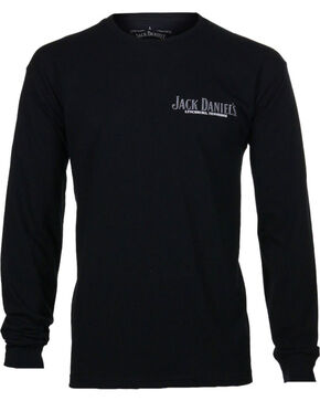 Jack Daniel's Men's Lynchburg Long Sleeve T-Shirt, Black, hi-res