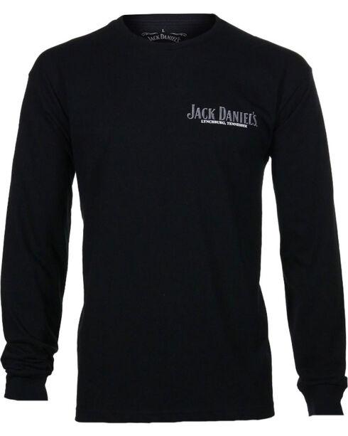 Jack Daniel's Men's Lynchburg Long Sleeve T-Shirt, Black, hi-res