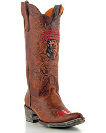 Gameday University of Montana Cowgirl Boots - Pointed Toe, , hi-res