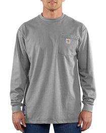 Carhartt Long Sleeve Pocket Fire Resistant Work Shirt, , hi-res