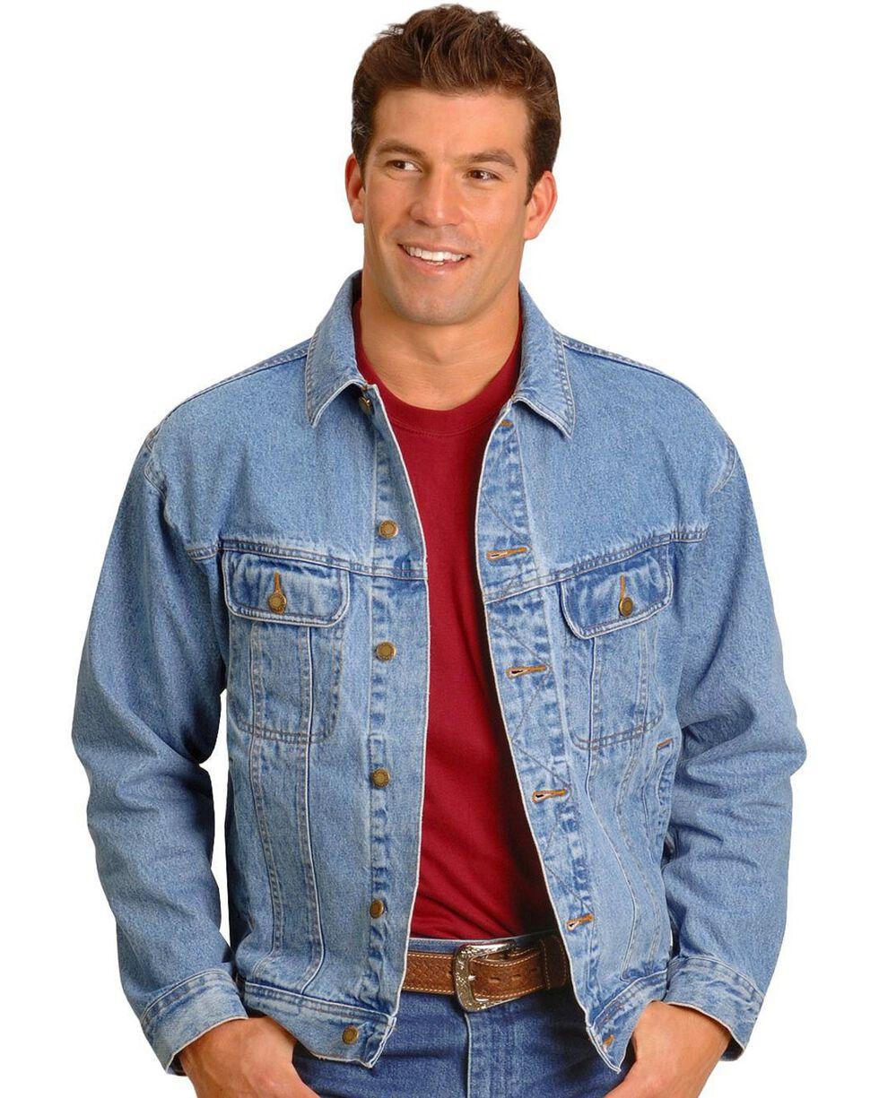 Wrangler Rugged Wear Men's Denim Jacket, Vintage, hi-res