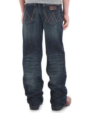 Wrangler Retro Boys' Relaxed Fit Jeans - Boot Cut, Blue, hi-res