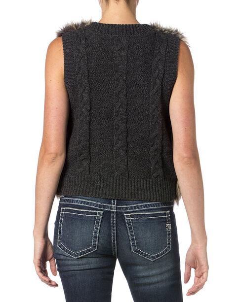 Miss Me Women's Primal Instincts Vest, Brown, hi-res