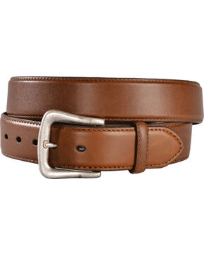 Nocona Men's Overlay Leather Western Belt, Brown, hi-res
