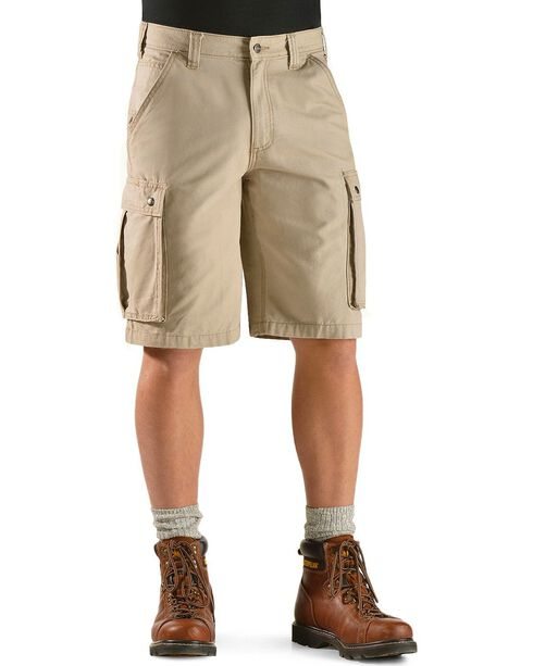 Carhartt Men's Rugged Cargo Shorts, Tan, hi-res