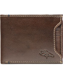 Jack Mason Men's Denver Broncos Stadium Sliding 2 in 1 Wallet , , hi-res