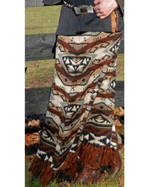 Tasha Polizzi Women's Azteca Blanket Skirt, , hi-res