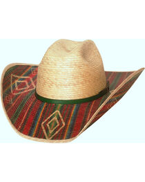 Bullhide Men's Southwestern Energy 20X Palm Leaf Hat , , hi-res