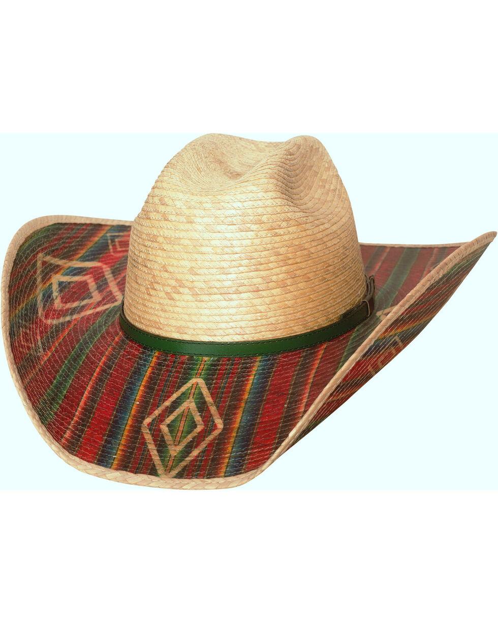 Bullhide Southwestern Energy 20X Palm Leaf Hat , Natural, hi-res