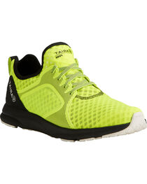 Ariat Men's Fuse Neon Yellow Mesh Shoes, , hi-res