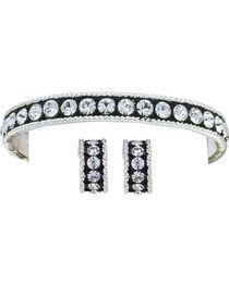 Montana Silversmiths Crystal Shine Jewelry Set, , hi-res