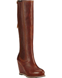 Ariat Cedar Ryman Wedge Cowgirl Boots - Round Toe, , hi-res