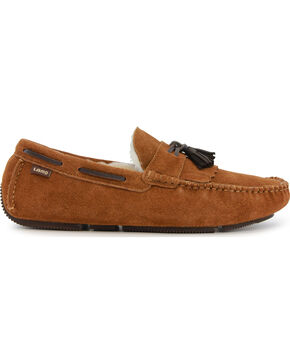 LAMO Men's Edwin Driving Mocs , Chestnut, hi-res
