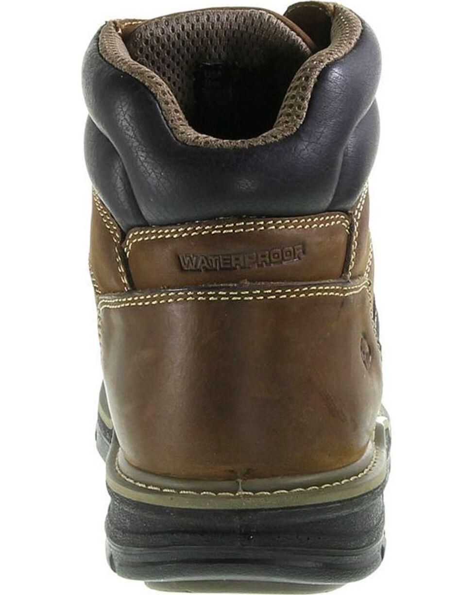 Wolverine Men's Corsair Waterproof Composite Toe Work Boots, Brown, hi-res