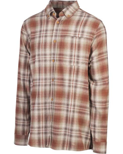 Browning Men's Brown Crawford Flannel Shirt , Brown, hi-res