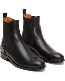 Frye Women's Black Melissa Chelsea Boots - Round Toe, , hi-res