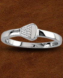 Kelly Herd Sterling Silver Nail Ring, , hi-res