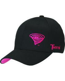 Twister Women's Flex Fit Hot Pink Logo Hat, , hi-res