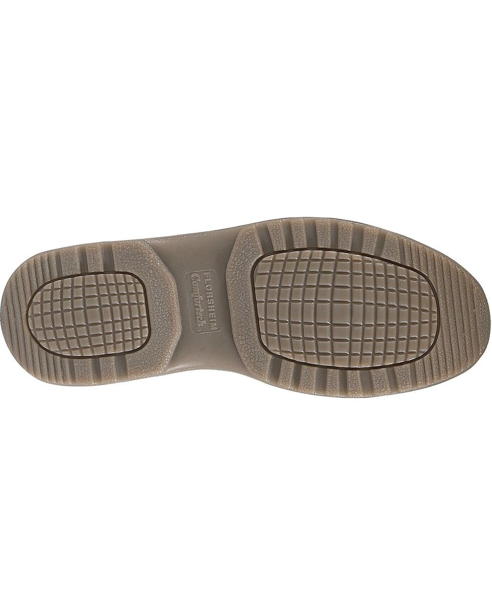 Florsheim Men's Compadre Internal Met Guard Steel Toe Lace-Up Oxford Shoes, Brown, hi-res