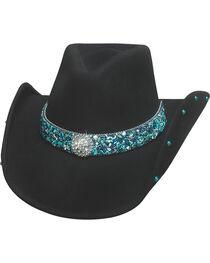 Bullhide Women's Dancin' Crazy Wool Felt Cowboy Hat , , hi-res
