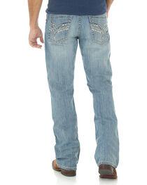 Wrangler Men's Rock 47 Slim Boot Cut Jeans, , hi-res