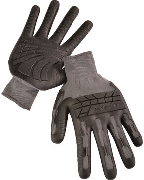 Carhartt Men's C-Grip Knuckler Formula 100 Gloves, Grey, hi-res