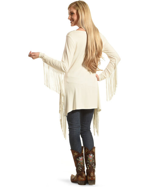 Tasha Polizzi Women's Teton Tunic, Cream, hi-res
