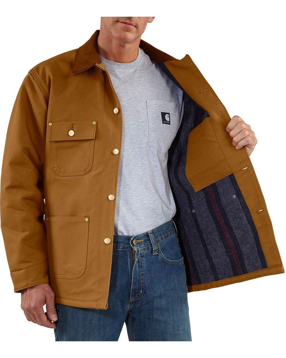 Carhartt Men's Duck Chore Coat, Brown, hi-res