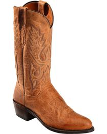 Lucchese Men's Lewis Roper Toe Mandras Goat Western Boots, , hi-res