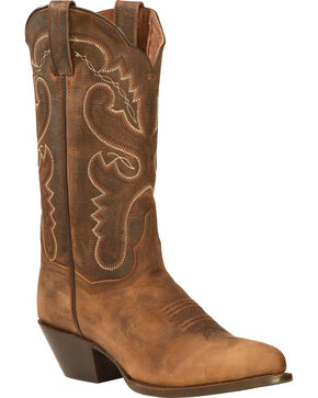 "Dan Post Women's 12"" Western Boots, Bay Apache, hi-res"