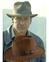 Indiana Jones Fur Felt Fedora Hat, , hi-res